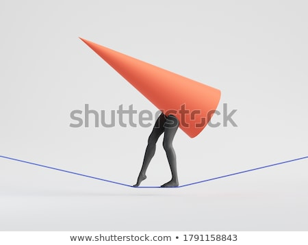 Tightrope Walker 3D Character Stock photo © make