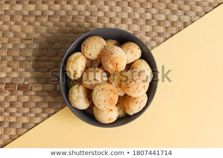 Foto stock: Pão · queijo · fatia · marrom · comida · nutrição