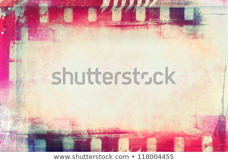Grunge film background with space for text or image Stock photo © Nekiy