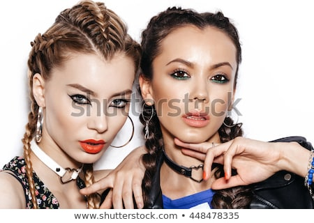 Stock photo: Vogue Style Photo Of A Young Blond Beauty