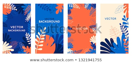 Flowers flat abstract background Stock photo © jossdiim