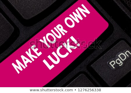 create your own luck stock photo © lightsource