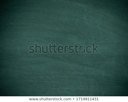 Stok fotoğraf: Okula · geri · yeşil · tahta · ahşap · okul · kalem