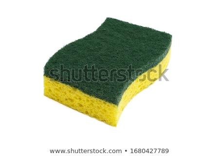 brush and sponge Stock photo © Serg64