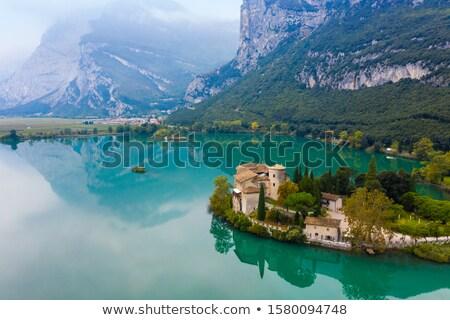 城 · ガルダ湖 · イタリア · ヴェローナ · 建物 · 壁 - ストックフォト © magann