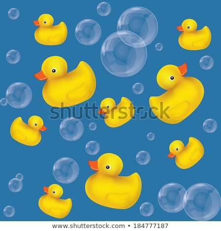 A light blue rubber duckie Stock photo © bluering