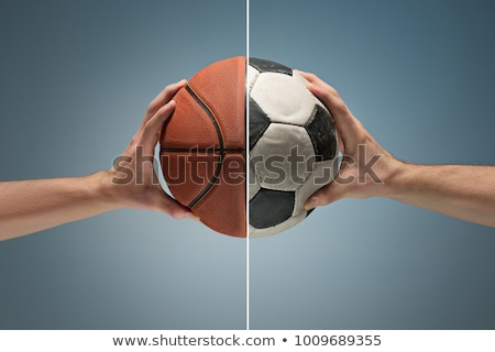 Basketball and football Stock photo © zurijeta