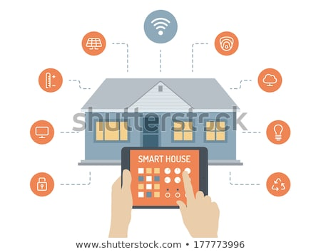 Smart house control panel stock photo © user_11224430