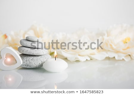 mooie · bloemen · hart · illustratie · bloem · bruiloft - stockfoto © orson