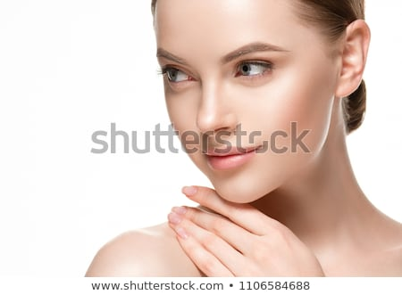 Stock photo: Beautiful female face