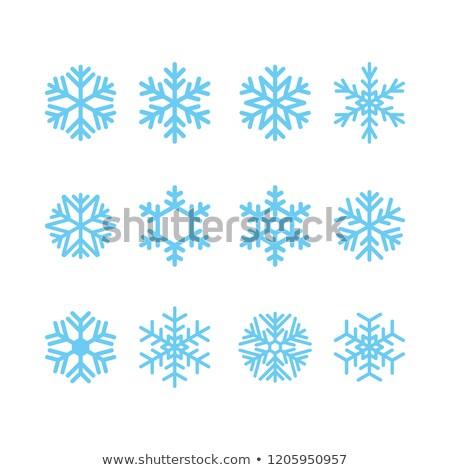 Blue ice cristal Stock photo © vapi