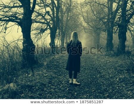 Geçit sokak moda kadın güzellik Stok fotoğraf © tekso