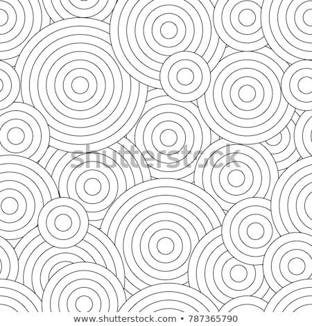 patrón · libro · para · colorear · ninos · resumen · floral - foto stock © Mamziolzi