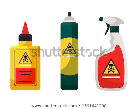 Sprayer with poison. Dangerous Poisonous liquid from insects. Stock photo © MaryValery