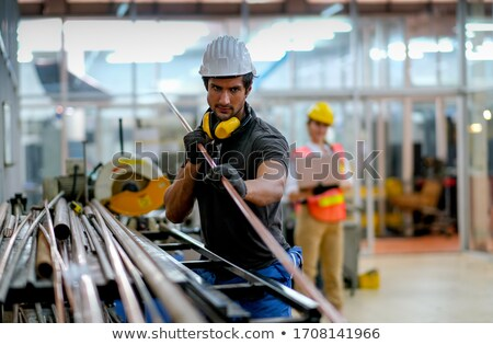 maintenance on laptop in modern workplace background stock photo © tashatuvango