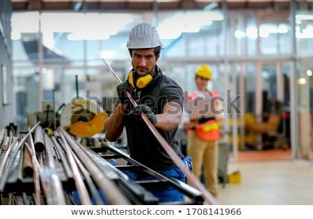 Karbantartás laptop modern munkahely közelkép leszállás Stock fotó © tashatuvango