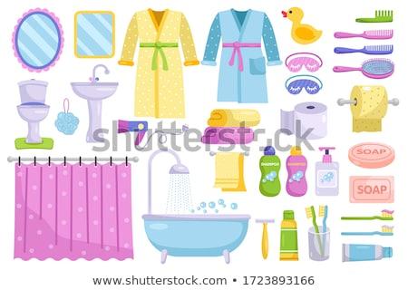 Banho isolado banheira banheiro água saúde Foto stock © popaukropa