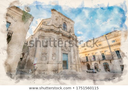 Santa Chiara church in Piazzetta Vittorio Emanuele II square of Lecce. Stock photo © Photooiasson
