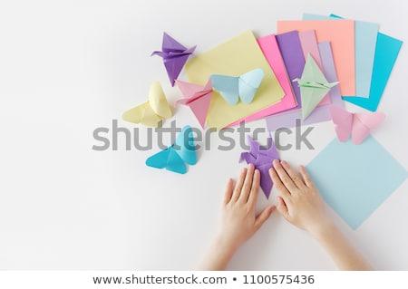classes Origami   paper Stock photo © Olena