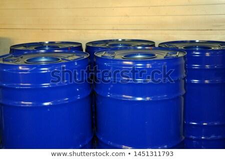 metallic storage tanks Stock photo © martin33