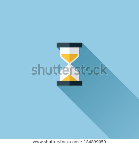 Hourglass Icon Transparent Sandglass Vector Photo stock © ussr