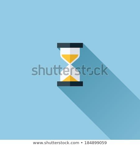 песочных часов икона прозрачный вектора антикварная инструмент Сток-фото © Andrei_