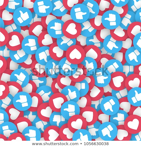 Stock photo: abstract isolated emoji background icons