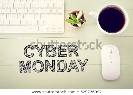 words cyber monday stock photo © oakozhan