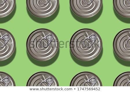 Estanho cor projeto pintar metal Foto stock © popaukropa
