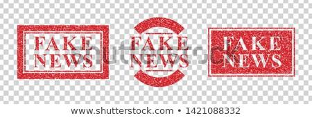 rendkívüli · hírek · újság · elöl · oldal · közlemény · főcím - stock fotó © romvo