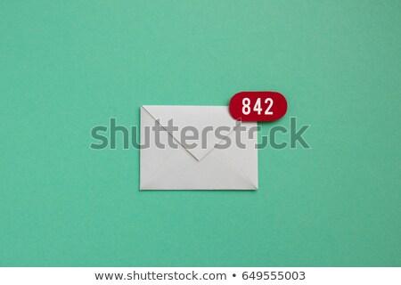 受信トレイ オフィス ストレス 書類 誰も 水平な ストックフォト © IS2