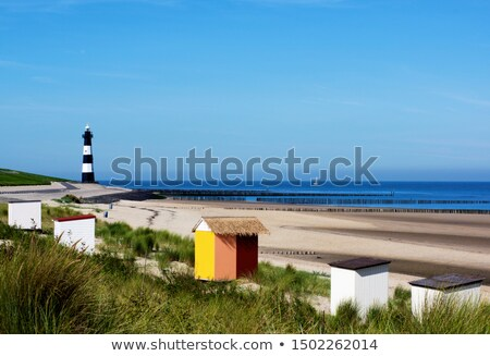 Lighthouse of Breskens in Netherlands Stock photo © benkrut
