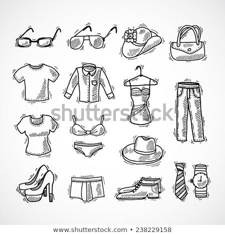schets · doodle · icon · maat - stockfoto © rastudio