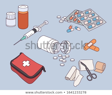 Syringe hand drawn outline doodle icon. Stock photo © RAStudio