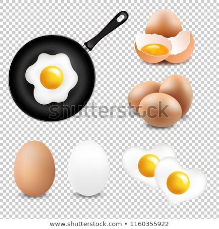 big eggs collection transparent background stock photo © adamson