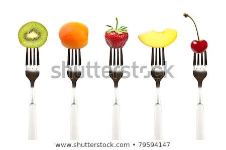 Healthy eating concept with fresh apricot  stock photo © TasiPas
