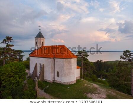 画像 · ハンガリー語 · 風景 · 湖 · バラトン湖 - ストックフォト © digoarpi