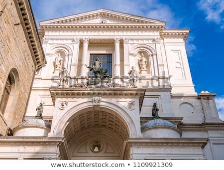 cattedrale · facciata · sicilia · Italia · arte · chiesa - foto d'archivio © boggy
