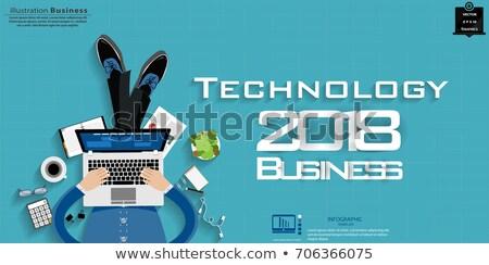 Copywriting concept banner header. Stock photo © RAStudio