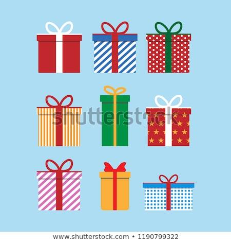 Рождества настоящее вечеринка бумаги украшение вектора Сток-фото © robuart