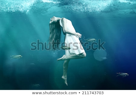 siren on deep sea Stock photo © adrenalina