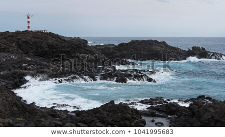 Lighthouse Faro de Rasca on The Tenerife, Canary Islands, Spain. Stock photo © vlad_star