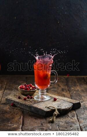 Cranberry beverage  Stock photo © grafvision