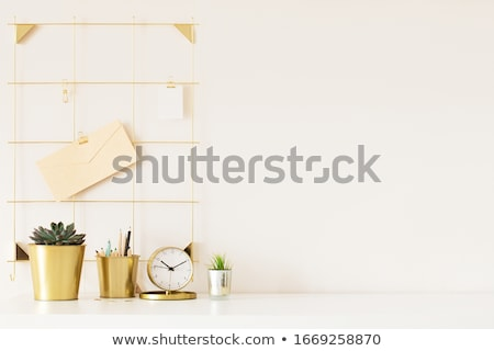 Министерство внутренних дел workspace белый современных мыши розовый Сток-фото © neirfy