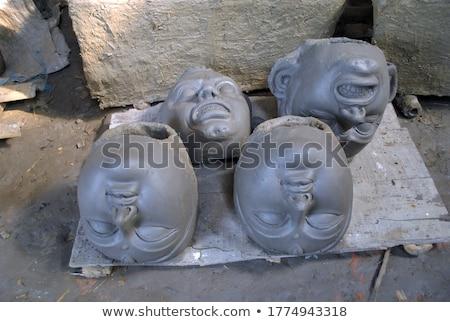 Making new clay bowl stock photo © pressmaster