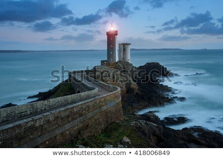 View of the lighthouse Phare du Petit Minou Stock photo © tilo