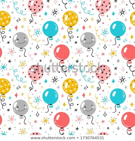 festive party seamless pattern stock photo © anna_leni