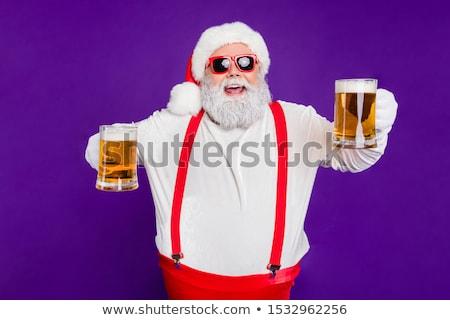 Portre adam bira gece klübü iş Stok fotoğraf © wavebreak_media