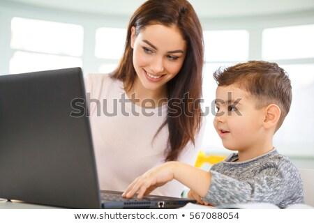 école enfants souriant enseignants enseignement classe Photo stock © wavebreak_media