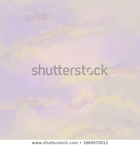 Anziehend Pastell Farbe Wolken lila Design Stock foto © SArts
